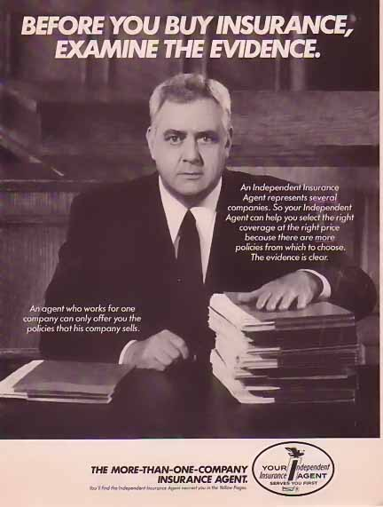 Perry Mason Insurance and Evidence